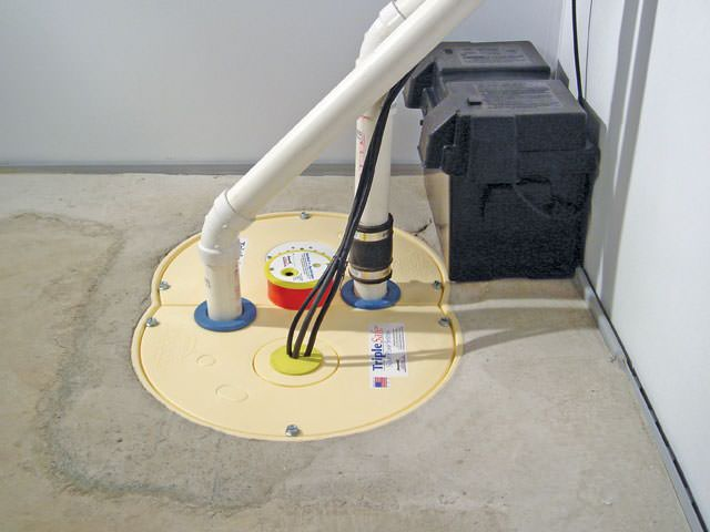 02lg basement waterproofing pump